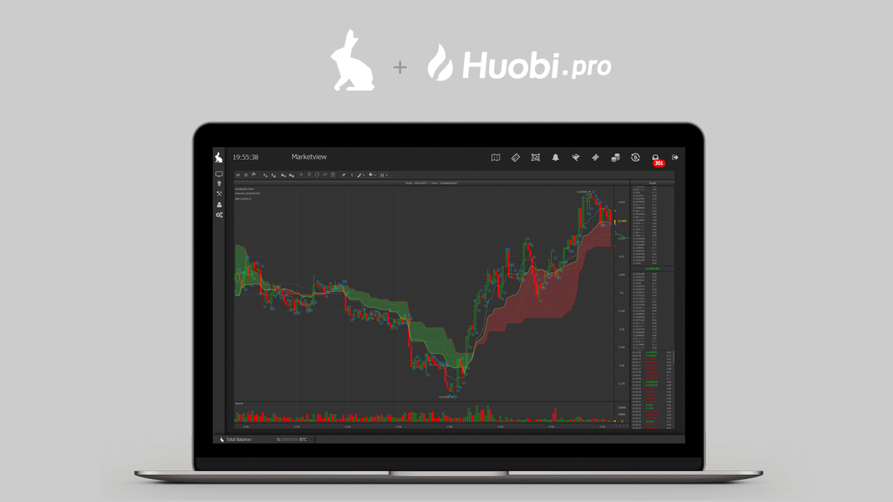 Huobi.pro trade bot integration