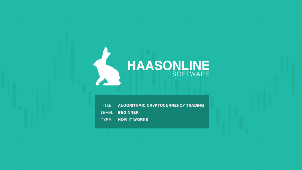 Use our Algorithmic Cryptocurrency Bitcoin Trading Bot