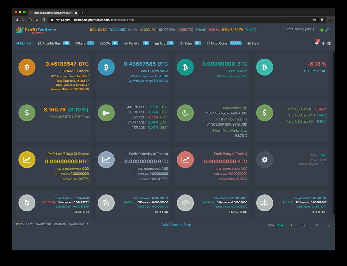 profit trailer crypto trading bot