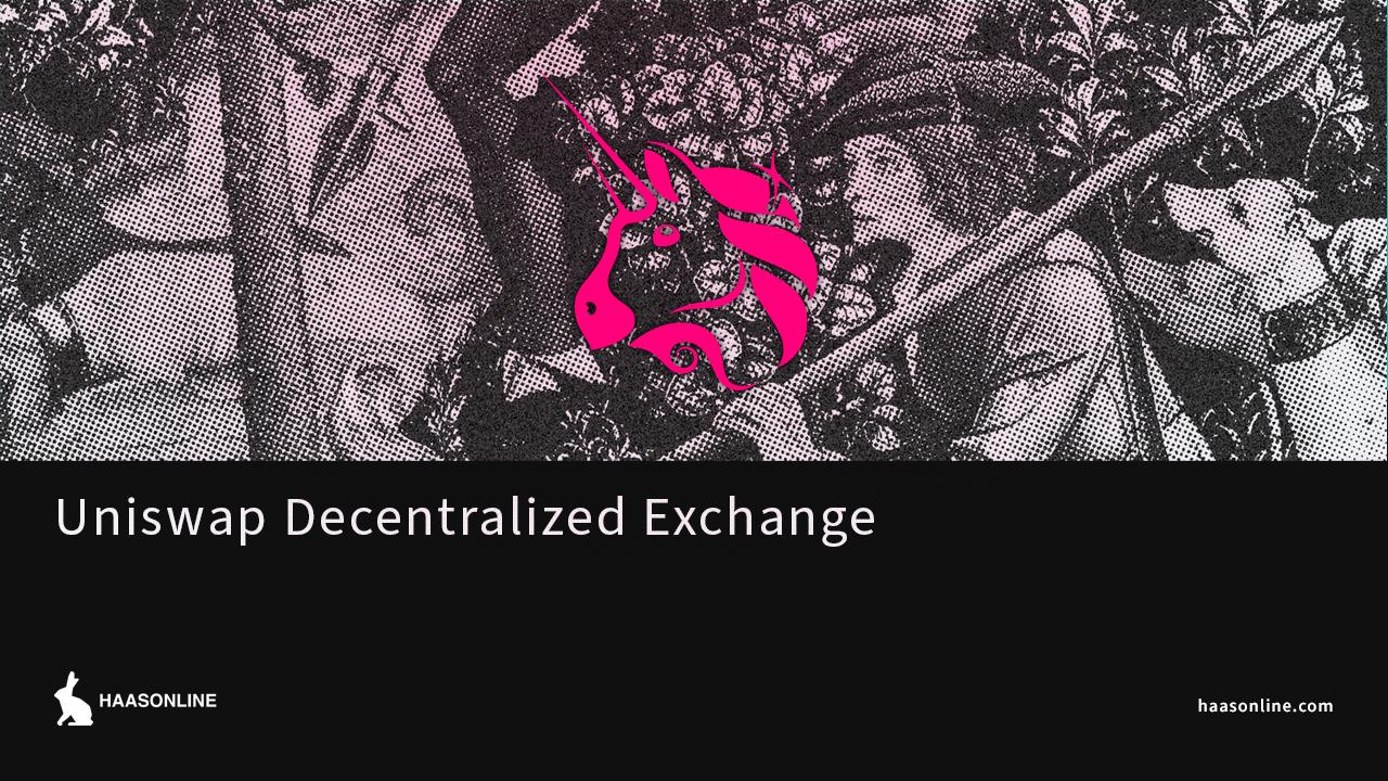 uniswap decentralized exchange